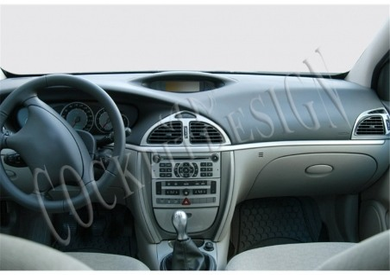 Citroen C2 - C3 11.04 - 09.09 Interior Dashboard Trim Kit Dashtrim accessories, wood grain, camouflage, carbon fiber, aluminum d