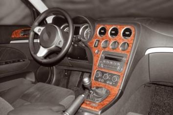 Audi A4 B5 Typ 8D 06.99 - 10.00 Interior Dashboard Trim Kit Dashtrim accessories, wood grain, camouflage, carbon fiber, aluminum