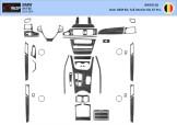 Fiat Linea 06.2007 Mittelkonsole Armaturendekor Cockpit Dekor 10 -Teile