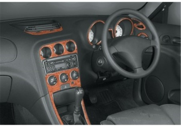 Fiat Punto 09.99 - 07.05 Mittelkonsole Armaturendekor Cockpit Dekor 9 -Teile