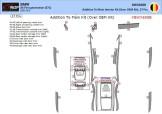 Fiat Scudo 01.96 - 12.06 Mittelkonsole Armaturendekor Cockpit Dekor 9 -Teile