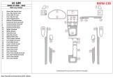 Fiat Croma 01.90 - 09.96 Mittelkonsole Armaturendekor Cockpit Dekor 6 -Teile