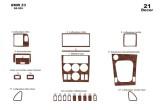Honda Civic 06.06 - 12.11 Mittelkonsole Armaturendekor Cockpit Dekor 16 -Teile