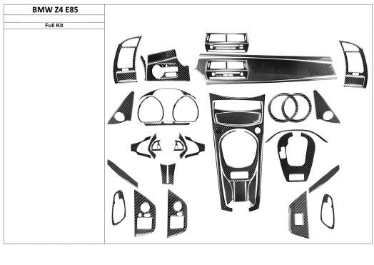 Citroen Jumpy 01.2007 3M 3D Car Tuning Interior Tuning Interior Customisation UK Right Hand Drive Australia Dashboard Trim Kit D