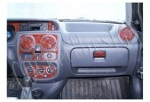 Dacia Solenza 04.2004 3M 3D Car Tuning Interior Tuning Interior Customisation UK Right Hand Drive Australia Dashboard Trim Kit D