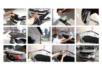 Hyundai Accent Blue 01.2011 Interior Dashboard Trim Kit Dashtrim 18-Parts