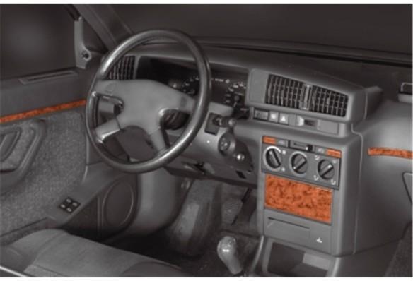 Hyundai Accent Blue 01.2011 Mittelkonsole Armaturendekor Cockpit Dekor 18 -Teile