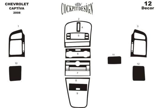 Daf LF 03.2001 3M 3D Car Tuning Interior Tuning Interior Customisation UK Right Hand Drive Australia Dashboard Trim Kit Dash Tri