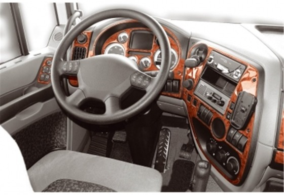 Daf XF 11.02-12.05 3M 3D Car Tuning Interior Tuning Interior Customisation UK Right Hand Drive Australia Dashboard Trim Kit Dash