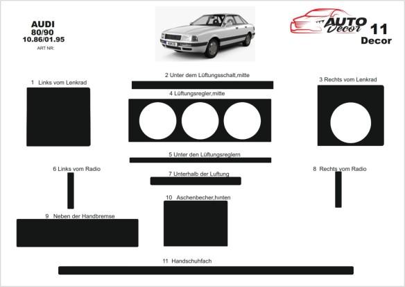 Alfa Romeo 159 09.2005 3M 3D Car Tuning Interior Tuning Interior Customisation UK Right Hand Drive Australia Dashboard Trim Kit