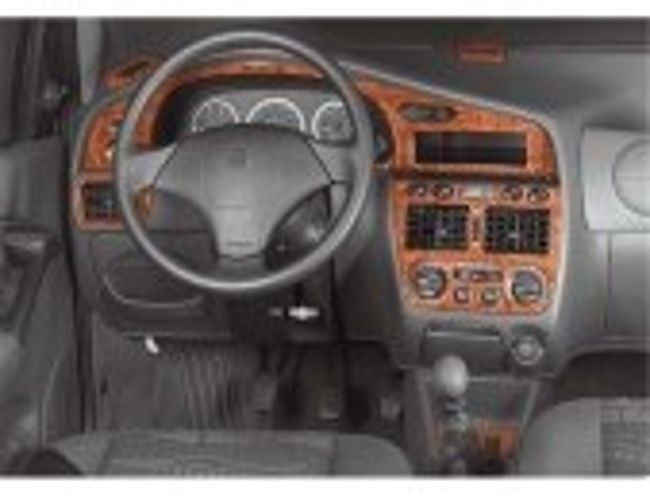 Hyundai Elantra 08.00 - 12.03 Mittelkonsole Armaturendekor Cockpit Dekor 8 -Teile