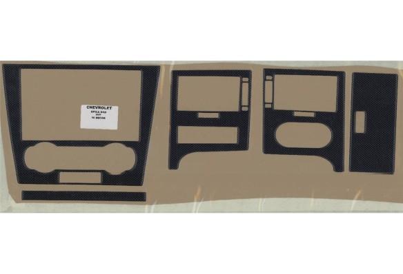 Fiat Albea 01.2005 3M 3D Car Tuning Interior Tuning Interior Customisation UK Right Hand Drive Australia Dashboard Trim Kit Dash