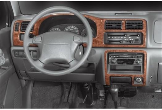 Seat Leon 01.2014 3M 3D Car Tuning Interior Tuning Interior Customisation UK Right Hand Drive Australia Dashboard Trim Kit Dash
