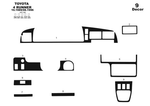 Porsche Panamera 2009-2015 3M 3D Car Tuning Interior Tuning Interior Customisation UK Right Hand Drive Australia Dashboard Trim