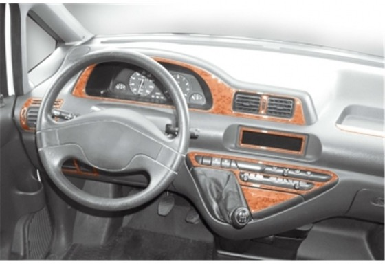 Fiat Scudo 01.96-12.06 3M 3D Car Tuning Interior Tuning Interior Customisation UK Right Hand Drive Australia Dashboard Trim Kit
