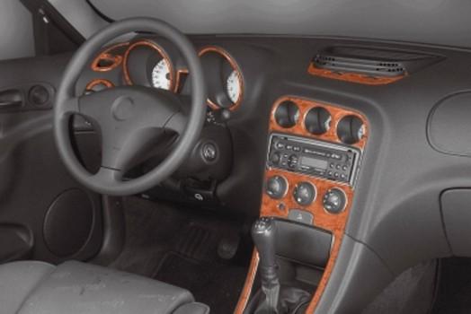 BMW 3 Series E30 09.85 - 07.94 Mittelkonsole Armaturendekor Cockpit Dekor 10 -Teile
