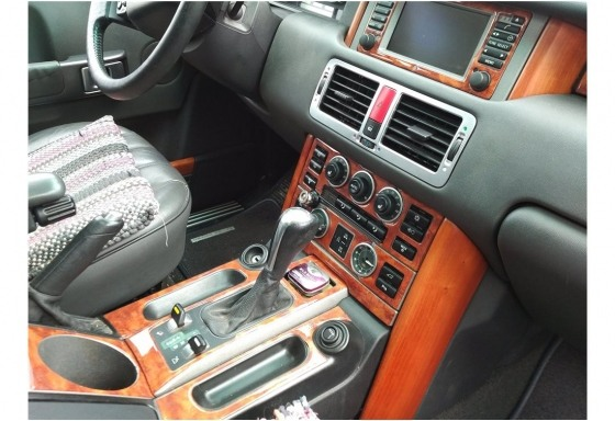 Land Rover Range Rover 2003-2006 3M 3D Car Tuning Interior Tuning Interior Customisation UK Right Hand Drive Australia Dashboard