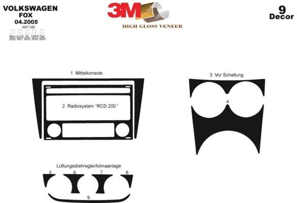 Land Rover Range Rover 2003-2006 3M 3D Car Tuning Interior Tuning Interior Customisation UK Right Hand Drive Australia Dashboard