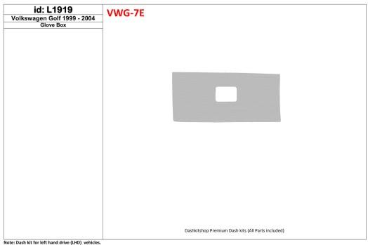 Ford Kuga II ab 2015 3M 3D Car Tuning Interior Tuning Interior Customisation UK Right Hand Drive Australia Dashboard Trim Kit Da