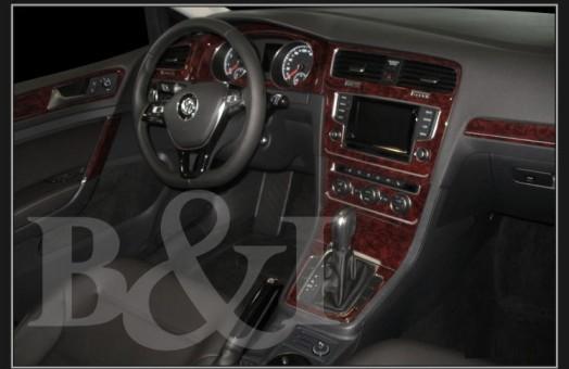 BMW X6 E71 2008-2014 3M 3D Car Tuning Interior Tuning Interior Customisation UK Right Hand Drive Australia Dashboard Trim Kit Da