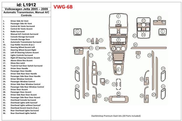 Subaru Tribeca 2006-2014 3M 3D Car Tuning Interior Tuning Interior Customisation UK Right Hand Drive Australia Dashboard Trim Ki
