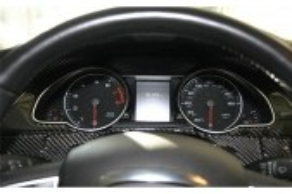 Audi A5 2008-2014 Hatchback 3M 3D Car Tuning Interior Tuning Interior Customisation UK Right Hand Drive Australia Dashboard Trim