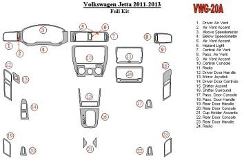 Mercedes SLK (R171) 2004-2010 3M 3D Car Tuning Interior Tuning Interior Customisation UK Right Hand Drive Australia Dashboard Tr