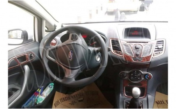 Dacia Logan 04.05 - 09.09 Mittelkonsole Armaturendekor Cockpit Dekor 20 -Teile
