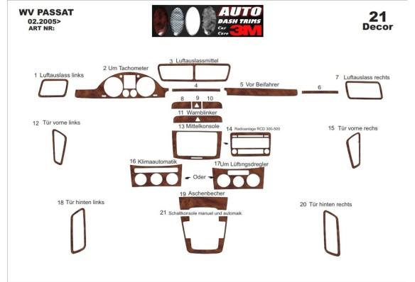 Citroen C-Crosser 2007–2013 3M 3D Car Tuning Interior Tuning Interior Customisation UK Right Hand Drive Australia Dashboard Trim