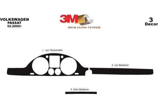 Peugeot 4007 2007–2013 3M 3D Car Tuning Interior Tuning Interior Customisation UK Right Hand Drive Australia Dashboard Trim Kit