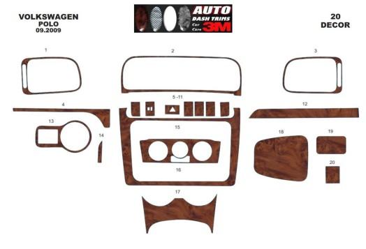 Honda CR-V Mk4 2012-2014 3M 3D Car Tuning Interior Tuning Interior Customisation UK Right Hand Drive Australia Dashboard Trim Ki