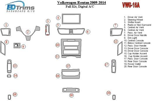 Mercedes Vito W639 2003-2006 3M 3D Car Tuning Interior Tuning Interior Customisation UK Right Hand Drive Australia Dashboard Tri