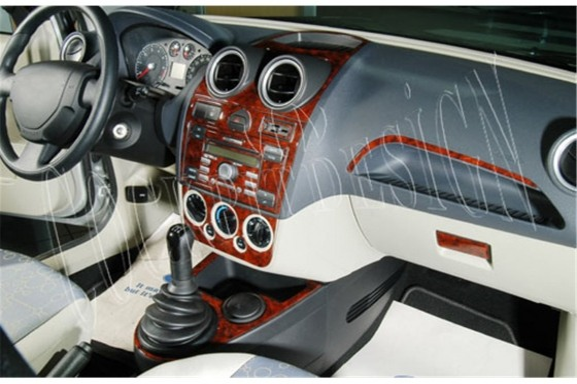 Ford Fusion 09.05-09.10 3M 3D Car Tuning Interior Tuning Interior Customisation UK Right Hand Drive Australia Dashboard Trim Kit