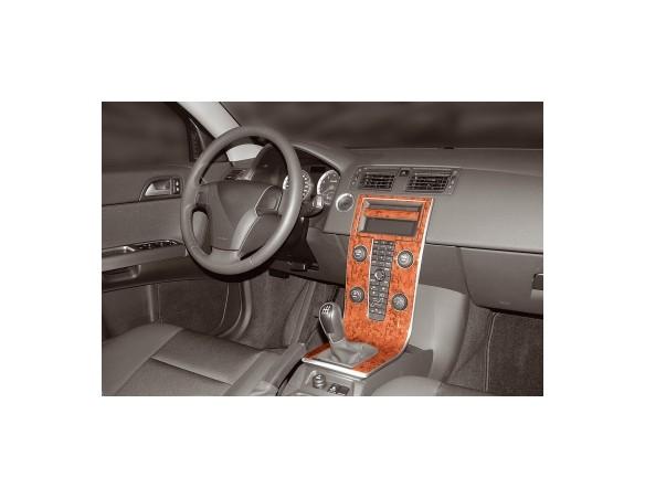 Nissan X Trail 2007-2013 3M 3D Car Tuning Interior Tuning Interior Customisation UK Right Hand Drive Australia Dashboard Trim Ki