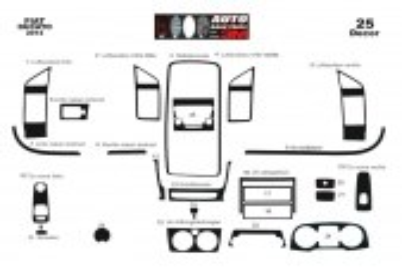 Fiat Ducato 2014 3M 3D Car Tuning Interior Tuning Interior Customisation UK Right Hand Drive Australia Dashboard Trim Kit Dash T