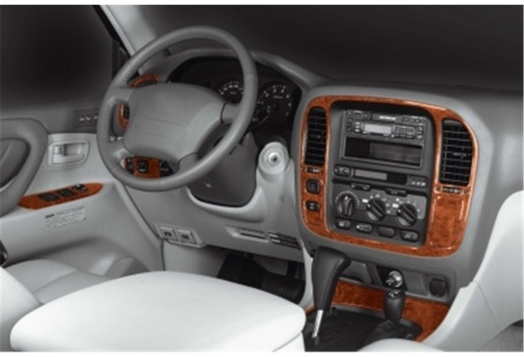 Toyota Landcruiser 05.98-12.03 3M 3D Car Tuning Interior Tuning Interior Customisation UK Right Hand Drive Australia Dashboard T