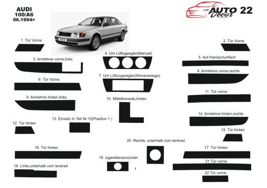 Toyota Hilux MK7 2004–2015 3M 3D Car Tuning Interior Tuning Interior Customisation UK Right Hand Drive Australia Dashboard Trim