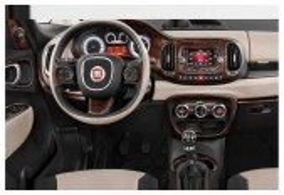 Fiat 500L 2012–2018 3M 3D Car Tuning Interior Tuning Interior Customisation UK Right Hand Drive Australia Dashboard Trim Kit Das