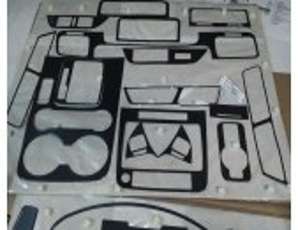 Volkswagen Touareg 2011-2017 3M 3D Car Tuning Interior Tuning Interior Customisation UK Right Hand Drive Australia Dashboard Tri