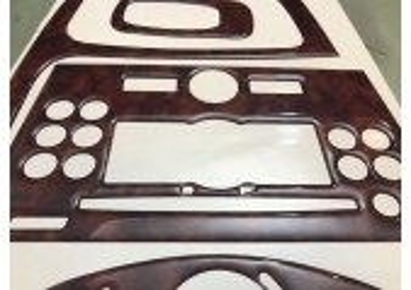 Opel Vivaro 01.07-01.11 3M 3D Car Tuning Interior Tuning Interior Customisation UK Right Hand Drive Australia Dashboard Trim Kit