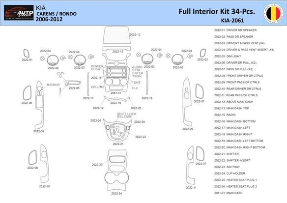 Volvo XC90 2003-2013 3M 3D Car Tuning Interior Tuning Interior Customisation UK Right Hand Drive Australia Dashboard Trim Kit Da