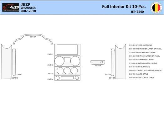 BMW 7 1995-2001 Full Set Interior BD Dash Trim Kit Car Tuning Interior Tuning Interior Customisation UK Right Hand Drive Austral