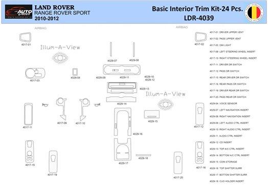 Chrysler PT Cruiser 2006-UP Full Set, не Folding roof-Cabrio, Manual Gear Box Interior BD Dash Trim Kit Car Tuning Interior Tuni