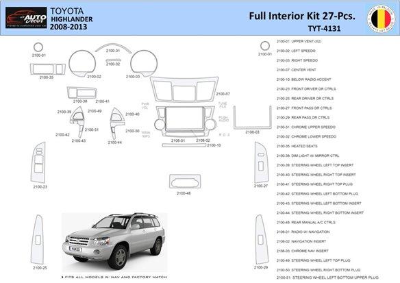 Chevrolet Tahoe 2007-UP OEM Compliance Interior BD Dash Trim Kit Car Tuning Interior Tuning Interior Customisation UK Right Hand