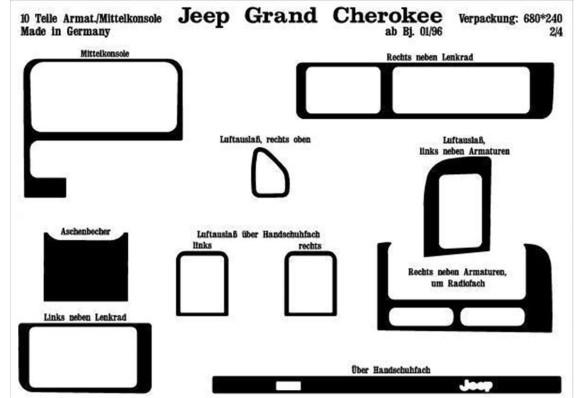 Ford Ranger 07.06-12.10 3M 3D Car Tuning Interior Tuning Interior Customisation UK Right Hand Drive Australia Dashboard Trim Kit