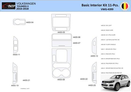 Dodge Charger 2008-UP Basic Set Interior BD Dash Trim Kit Car Tuning Interior Tuning Interior Customisation UK Right Hand Drive