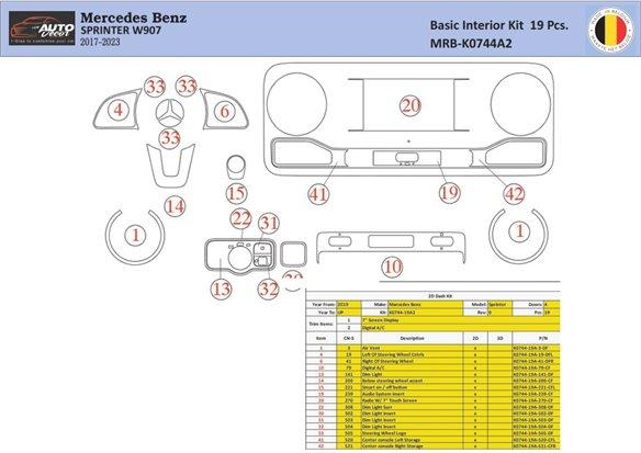 Honda Accord 1998-2000 glowe-box Interior BD Dash Trim Kit Car Tuning Interior Tuning Interior Customisation UK Right Hand Drive