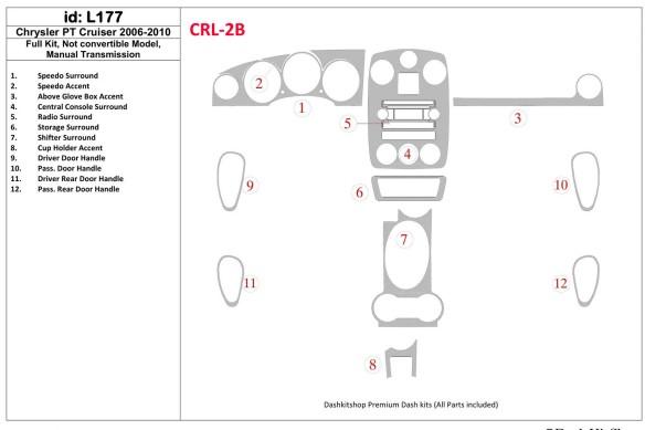 Ford Transit Custom 01.2014 3M 3D Car Tuning Interior Tuning Interior Customisation UK Right Hand Drive Australia Dashboard Trim