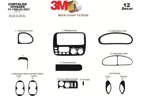 Ford Transit Custom Torneo 01.2014 3M 3D Car Tuning Interior Tuning Interior Customisation UK Right Hand Drive Australia Dashboa