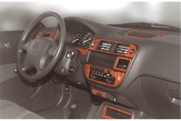 Mercedes A-Class W168 02.01 - 06.04 Mittelkonsole Armaturendekor Cockpit Dekor 5 -Teile